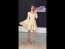 Вечернее платье бежевое