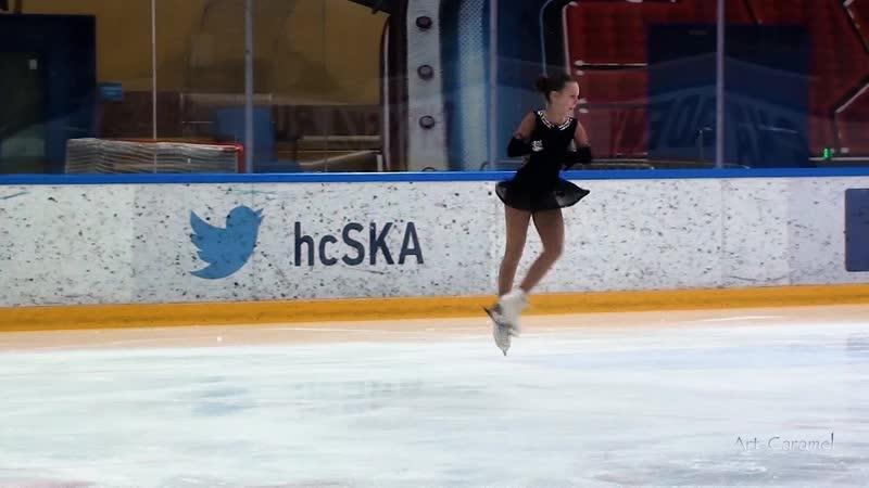 Маргарита Латушко Невский Лёд 20190407 Ice Burevestnik G 1U 2008