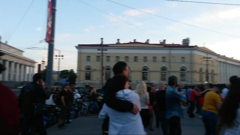 Бачата с Mauro.(Мексика)Санкт-Петербург.Оупен-эйр.