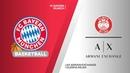 FC Bayern Munich - AX Armani Exchange Olimpia Milan Highlights EuroLeague RS Round 18