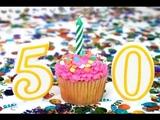 Самое Красивое Поздравление С Юбилеем 50 Лет Женщине
