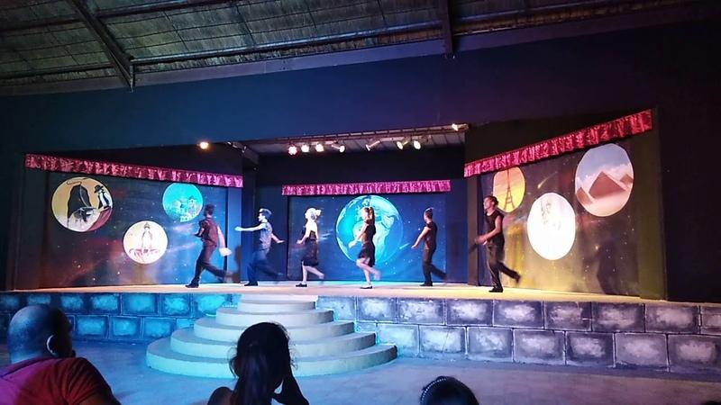 Caribbean World Borj Cedria Tunisia Тунис 2018 латиноамериканский танец