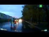 В Хабаровске женщина сбила машиной трех школьниц на переходе