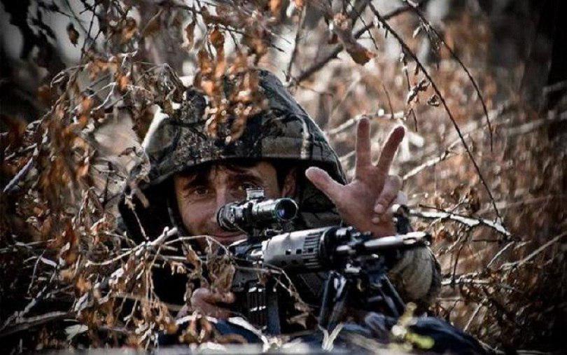 В Донецке появился сербский снайпер с позывным Деки