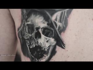 Тату реализм| реалистичная татуировка | Алексей Михайлов |Alexei Mikhailov tattoo artist realistic tattoo