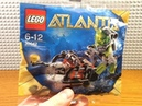 ОБЗОР ПОЛИБЕГА ЛЕГО АТЛАНТИДА 30042 МИНИ СУБМАРИНА LEGO POLYBAG ATLANTIS 30042 MINI SUB REVIEW