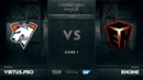 Vs EHOME, Game 1, The Chongqing Major Group A
