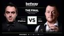 Snooker. UK Championship 2018. Ronnie OSullivan - Mark Allen. FINAL. 5-8 frames rus