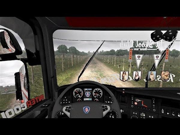 Euro Truck Simulator 2 (v1.28) - Scania RJL V8 Open Exhaust Combo Skin [Part 2/2]