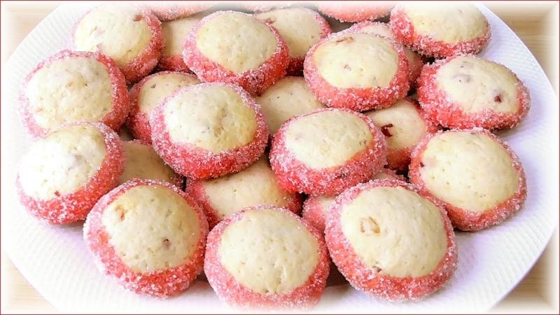 Простой рецепт! Печенье ФЛАМИНГО - песочное печенье на сметане