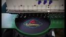 Логотип на фартуке Чайхана Студия машинной вышивки Ninta