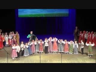 Детский ансамбль Тутарики на юбилейном концерте фольклорной группы Услада.