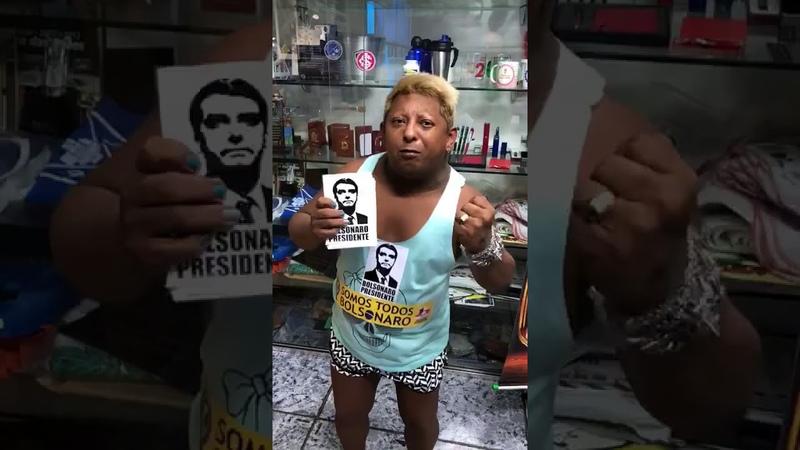 DECLARANDO APOIO A BOLSONARO...