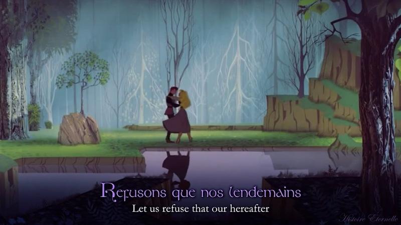 Jen ai Rêvé | Once Upon a Dream (French) (lyrics trans)
