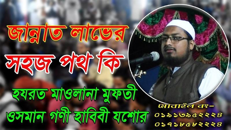 Bangla Waz এ বছরের সেরা ওয়াজ | Mufti Osman Goni Habibi | bangla waz mahfil