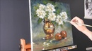 The passing time, Still life oil painting, by Nathalie JAGUIN