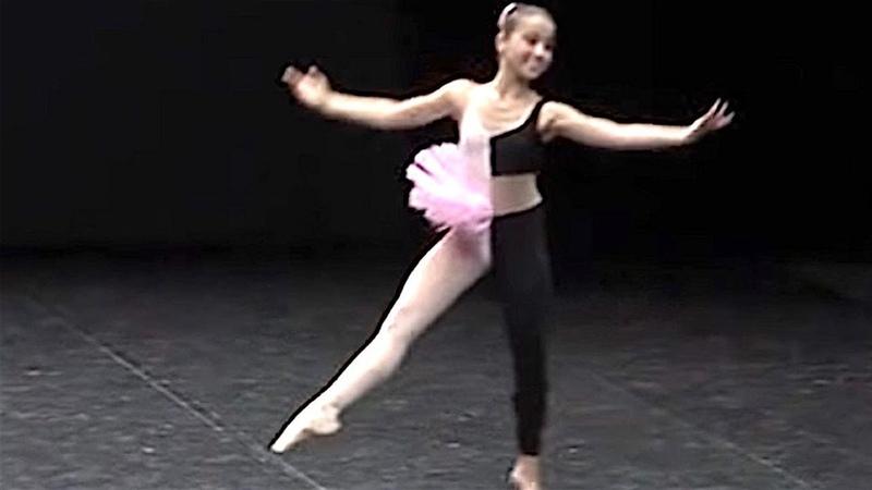 Балет Приколы Хип хоп на пуантах Большая балерина