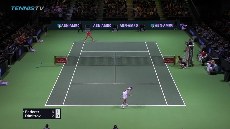 Roger Federer vs Grigor Dimitrov Rotterdam 2018 Final Full Match