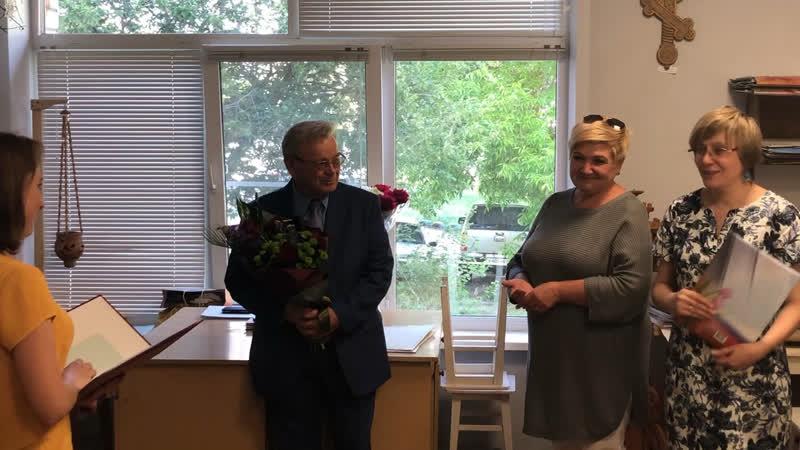 80 лет исполнилось Николаю Леонтьевичу Мильченко