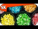 Rainbow Popcorn - How to make Popcorn Series 03 - Rainbow S09
