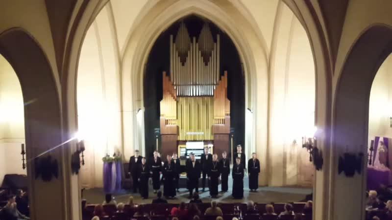 Органный зал. Выступление студентов вокального и дирижёрско-хорового отделения Красноярского колледжа искусств