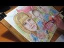 Шаржик для веселой семьи художник Картинина М