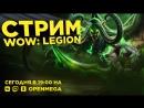 Катя играет в World of Warcraft Legion