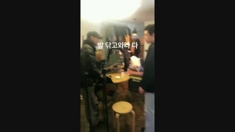120219 ig story jiho / wonbin / jinhyuk