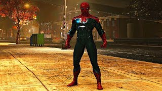 Spider-Man PS4 - Resilient Suit Gameplay (The Heist DLC)