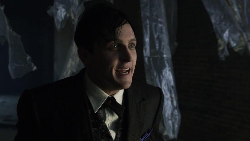 Gotham 1x07 Penguin Scenes