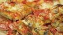 Пицца с ветчиной и грибами на пышном тесте за 1 час