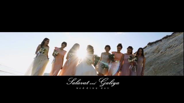 Salavat Galiya Wedding Day
