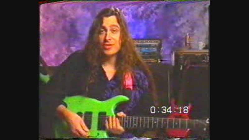 Joey Taffola - Shredding (vhsrip, rus, guitar school)