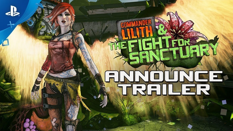 Borderlands 2 - Commander Lilith the Fight for Sanctuary Trailer | PS4