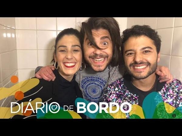Diário de Bordo com Salvador Sobral 12 de maio Eurovisão 2018