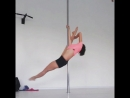 AtmosVera pole dance цирковой флажок шпагатик