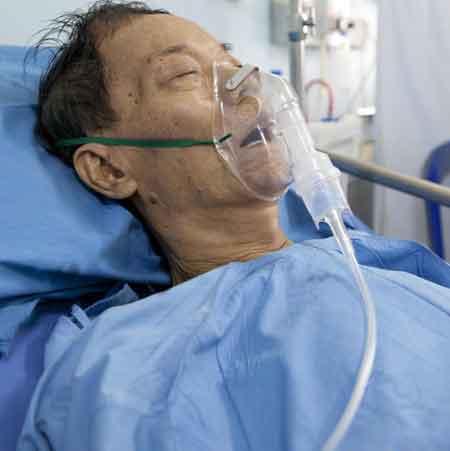 Низкий уровень кислорода в крови может потребовать дополнительного кислорода