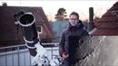 Moon through my Telescope Live Video