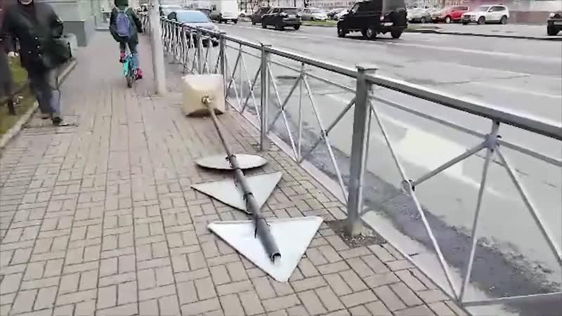Ураган в Санкт-Петербурге и области (18.11.2018) [2]