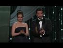 Вручение премии Оскар фильму Девушка с татуировкой дракона