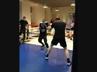 Тренировка в #Puncher fight club