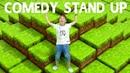 Стендап шоу от Адриана Смешное видео в мире Майнкрафт
