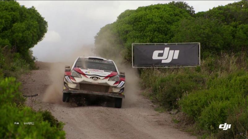 WRC 2018 - DJI Aerial Clip Rally Italia Sardegna