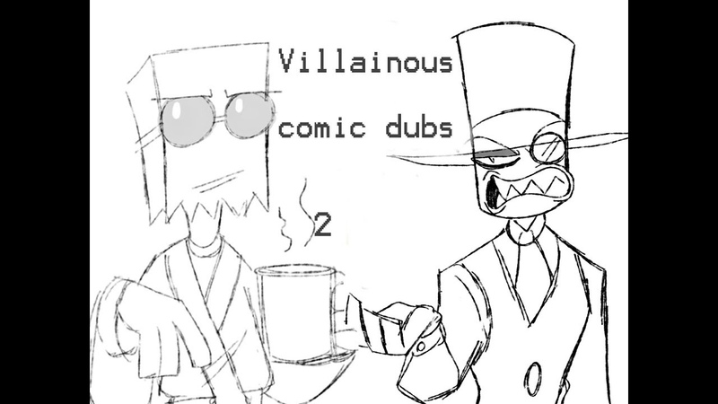 Villainous Flug Black Hat Comic Dubs Part 2