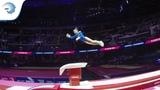 Olga ASTAFEVA (RUS) - 2018 Artistic Gymnastics Europeans, junior vault final