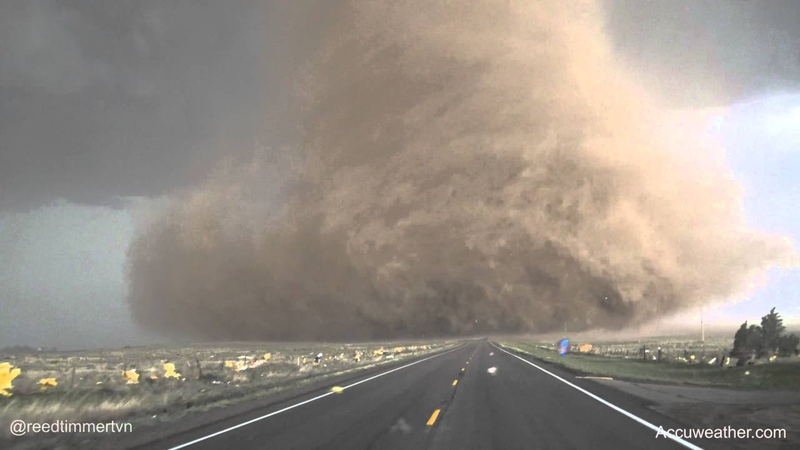 Extreme up-close video of tornado near Wray, CO!