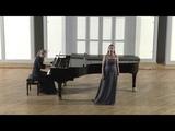 Polina Vdovina - Il barcaiolo - Gaetano Donizetti