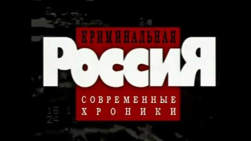 «Криминальная Россия. Современные хроники» 14. «Синдикат убийц»