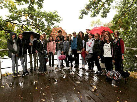 Школьники из Бибирева побывали в музее-заповеднике Пушкина