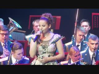 Виктория оганисян - ария вокализ - оркестр министерства обороны рф